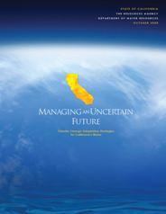 DWR Climate Change White Paper